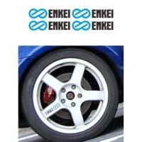 Best Seller Sticker Velg Mobil Enkei Wrc Tarmac Evo Small