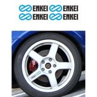 New Sticker Velg Mobil Enkei Wrc Tarmac Evo Big