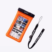 harga Wk Design Ledive Waterproof Handphone Bag Wt-q01 Orange Tokopedia.com