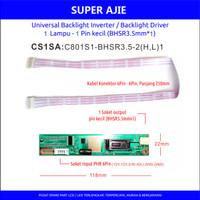 Inverter LCD TV Monitor Laptop CCFL 1 Neon lampu Pin kecil 7 ke 22inch