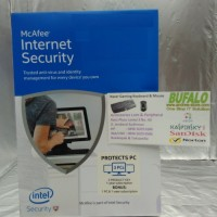 (Sale) McAfee Internet Security 3 User Free 1User