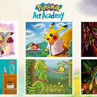 (Dijamin) 3DS Pokemon Art Academy (Usa / Asia)