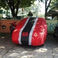 RESTOK Selimut mobil Honda Brio 3garis sarung body mobil sparepart mo