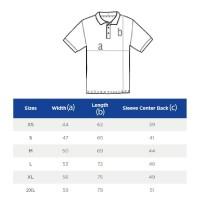 spesial Kaos Polo GILDAN Sport Shirt 73800 Size XXL