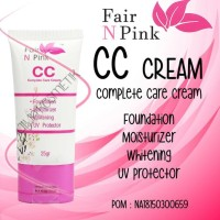 Cc Cream Fair N Pink Original Bpom Diskon