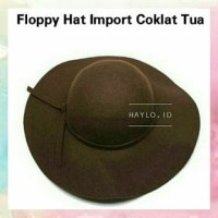 grosir FLOPPY HAT IMPORT POLOS TOPI FLOPPY WOOL