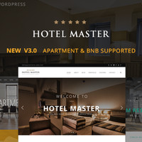 Hotel Master v3.02 - Hotel Booking WordPress Theme