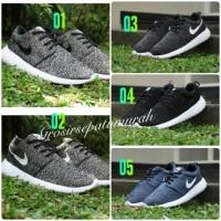 Jual Sepatu Nike Roshe Run Flyknit Pria Sneakers Murah Kualitas KW Super Murah