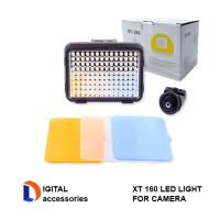 XT 160 LED VIDEO LIGHT FOR CAMERA