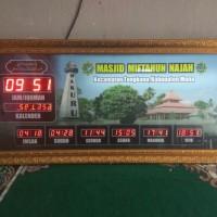 Jam digital masjid murah bekualitas 1