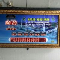 Jam digital masjid salat murah berkualitas