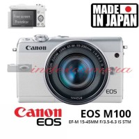 Canon EOS M100 Kit 15-45MM IS STM New
