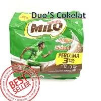 Nestle Milo 3in1 18+Percuma 3 stik IMPORT MALAYSIA