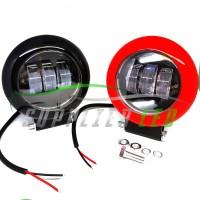 Lampu Tembak Sorot Motor Mobil LED Laser Gun Tube Premium Lens