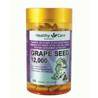 Healthy Care Grape Seed 12000 300 Capsules T0310