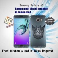 Garskin HP Samsung Galaxy A5 Motif decepticon - motif bisa request