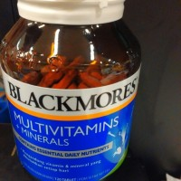 BLACKMORES / MULTIVITAMIN / BLACKMORES MULTIVITAMIN + MINERALS 120S