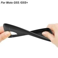 Silicone Rubber Kondom jelly Soft Case buat hp Moto G5S Plus / G5S+