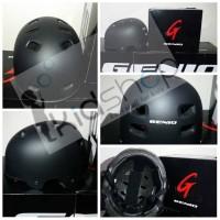 Helm Sepeda Batok / Helm BMX Genio Type G12 Hitam Doff PROMO