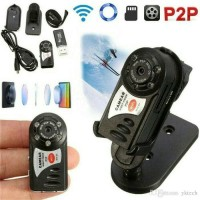 Cctv kamera mini Q7 wifi wireless full HD ip cam night vision