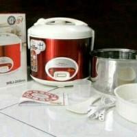 magic com maspion mrj 109 - rice cooker mini - magicom 1 L stainless