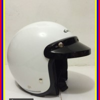 Helm Cargloss Cf Retro White