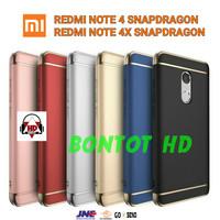 Hardcase Bumper Xiaomi Redmi Note 4 Casing Back Case 3 in 1 Note4