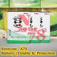 Baterai Cross Evercoss A7S Rakkipanda Double Power