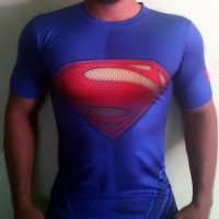 UNDER ARMOUR ALTER EGO MAN OF STEEL SUPERMAN COMPRESSION