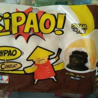 Kipao / Minipao Coklat isi 25