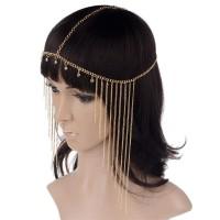 Headchain hairpiece Headband Hiasan rambut kepala mahkota flower crown