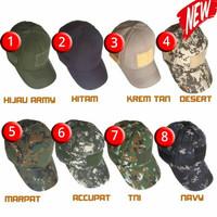 topi velro army / topi sniper / topi pemburu / topi tactical
