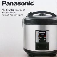 Rice Cooker Panasonic SR CEZ18 Silver/ Majic Com Panasonic SR CEZ18
