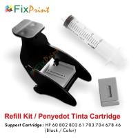 Penyedot Tinta Cartridge Catridge HP 802 678 680 803 901 46 60 703 704