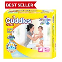 Popok - Cuddles Diapers Pull-Up Pants M20-better than sweety mamy poko
