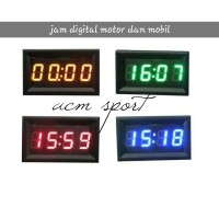 jam digital modish led motor mobil dll universal