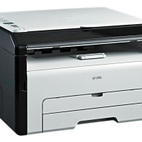 PRINTER LASER RICOH SP200S CUT OFF 35%