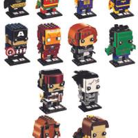 Koleksi Lego keren LEGO 41585 41596 Brickheadz Brickheadz WAVE 01 Com