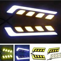 Lampu Led Mobil Drl COB Plasma Plus Sein