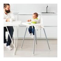 JNE / WAHANA IKEA ANTILOP Kursi Makan Anak Bayi + Meja Baby + Sabuk