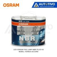 Honda Accord Osram Lampu Kabut (Fog Lamp) NBR Plus H3