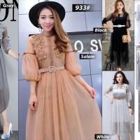 Dress Maxi Jala Renda 933#