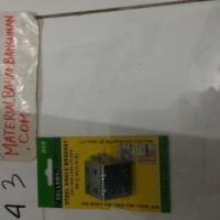 (Murah) besi siku angel bracket iron 35 mm free skrup 1 pack isi 4