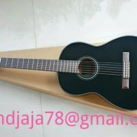 Yamaha Gitar Klasik Original Yamaha C40 Black / C-40 BL / C 40BL
