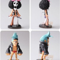 Figure One Piece Strong World Set Topi Jerami Figure Luffy Sanji Zoro