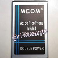 Baterai M-COM for Axioo M2 / M4 Double Power 5000mAh