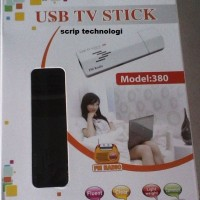 PROMO... GADMEI USB TV Stick Tuner Analog For PC Laptop 380
