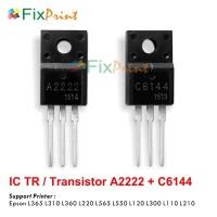 IC TR Transistor A2222 C6144 Set, Printer Epson L110 L120 L130 L210