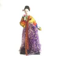 Souvenir Gift Boneka Hanbok Doll - Korean Hanbok Doll VI