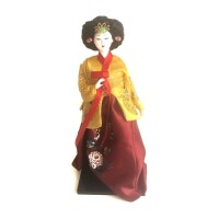 Souvenir Gift Boneka Hanbok Doll - Korean Hanbok Doll II